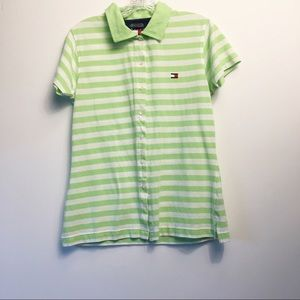 Tommy Hilfiger Striped Shirt Size Large